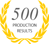 500 PRODUCTION RESULTS